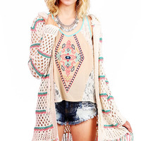 Candy Striper Knit Cardigan