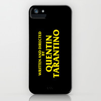 Written And Directed By Quentin Tarantino iPhone & iPod Case by FunnyFaceArt   Society6