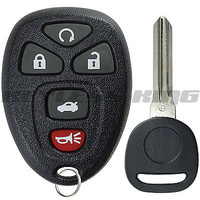 New Replacement Keyless Entry Remote Key Fob + Uncut Ignition Key for 22733524