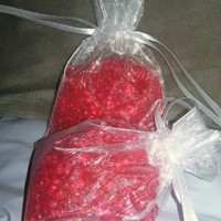 Aroma Beads Sachet, Air Fresheners,Strawberry Passion, Fruity,  Sample Size, Ready to Ship