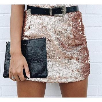 Brooklyn Sequin Mini