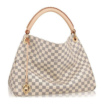 Louis Vuitton Damier Canvas Artsy MM Handbag Article:N41174 Made in France
