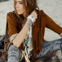 Cowgirl Dreams Tassel Jacket Tan | Spell & the Gypsy Collective