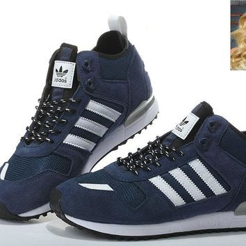 Latest and Cheapest B35243 Adidas ZX 700 Winter Core Black shoes