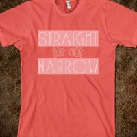STRAIGHT BUT NOT NARROW | EQUALITY SHIRT