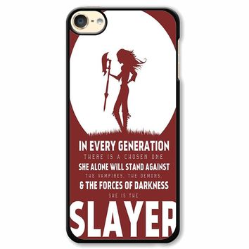 Buffy The Vampire Slayer 2 iPod Touch 6 Case
