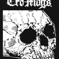 """Cro-Mags - Skull 5X6"""" Printed Patch"""
