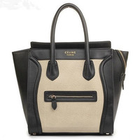 CELINE LUGGAGE PHANTOM SQUARE BAG TOTE HANDBAG