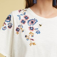 Fluttered Thistle Tee