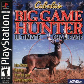 Big Game Hunter - Playstation (Very Good)