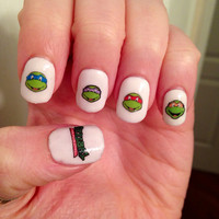 Teenage Mutant Ninja Turtles Nail Decals