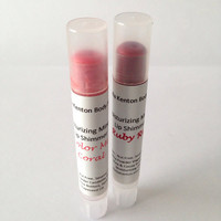 Ruby Red and Pink Mineral Lip Shimmer Set, Lip Color, Nut Free, Sesame Free