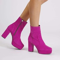 HERCULES Platform Boots - Shoes
