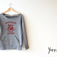 Women Crop Sweatshirt - Harry Potter - Hogwarts
