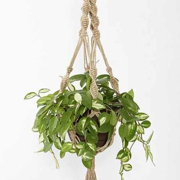 Magical Thinking Hand-Knotted Hanging Plant Holder