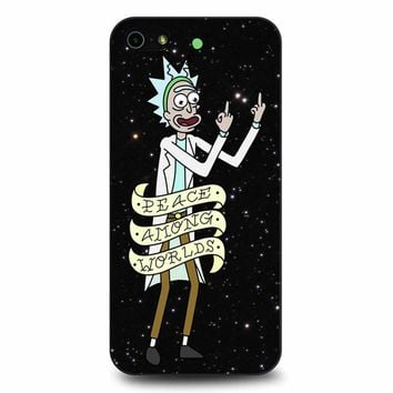 Rick And Morty Peace Among Worlds 2 iPhone 5/5s/SE Case