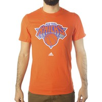 Adidas NBA New York Knicks Men's Orange T-shirt