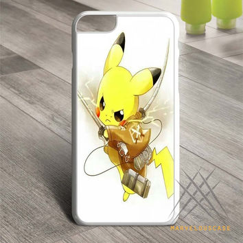 attack on titan - pikachu Custom case for iPhone, iPod and iPad
