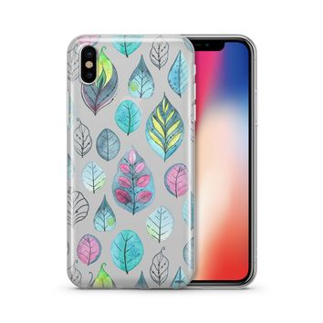 Leaves - Clear Case Cover