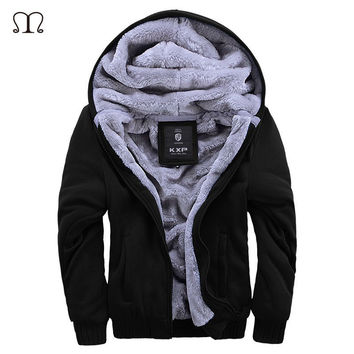 XXXXL Hoodies Men Brand-Clothing Sweatshirt Mens 2017 Chandal Hombre Thick Hoodie Man Fleece Hoody Pullover Warm Mens Jacket W11