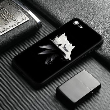 The witcher 3 wild hunt wolf Tpu coque Soft Silicone Phone Case Cover Shell For Apple iPhone 5 5s Se 6 6s 7 8 Plus X XR XS MAX