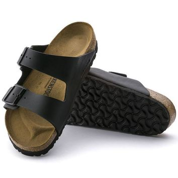 Sale Birkenstock Arizona Birko Flor Black 0051791/0051793 Sandals