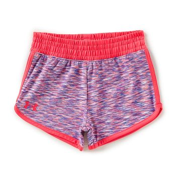 Under Armour Little Girls 2T-6X Record Breaker Running Shorts | Dillards