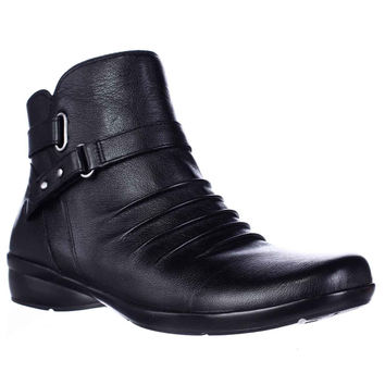 naturalizer Cassini Ankle Boots - Black