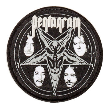 "Pentagram ""Baphomet Logo"" Patch"