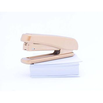 Gold Stapler, Desk Accessories, Office Supplies, Teacher Gift, Office Gift Ideas