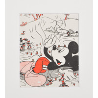 Vintage Mickey Mouse Print, #04