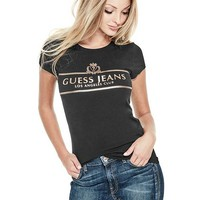 Champagne Graphic Tee at Guess