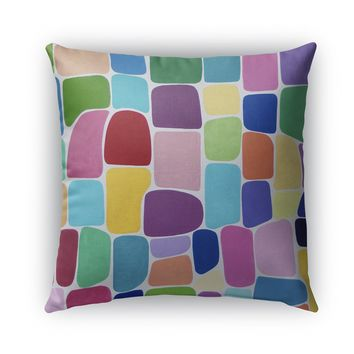 COLOR GALORE Indoor|Outdoor Pillow By Lokiloni