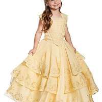 Kids Belle Costume The Signature Collection - Beauty and the Beast Movie - Spirithalloween.com