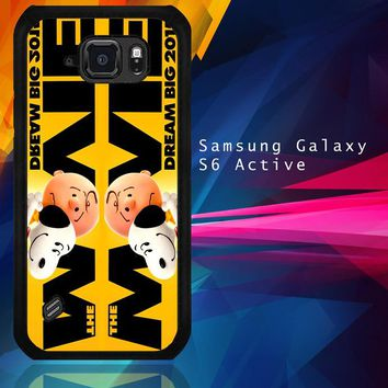 Snoopy And Charlie Brown The Peanuts 2015 Movie V 2104 Samsung Galaxy S6 Active  Case
