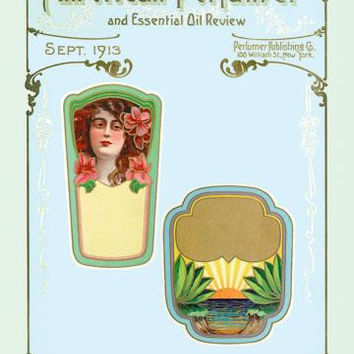 American Perfumer and Essential Oil Review, September 1913 20x30 poster