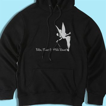 Faith Trust And Pixie Dust Disney Quotes Tinkerbell Men'S Hoodie