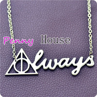 Harry Potter ALWAYS Pendant Necklace