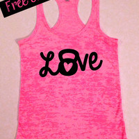 Love Kettlebells. Womens Workout Tank. WOD Kettlebell Tank. Fitness Tank. Workout Tank. Exercise Clothing. Gym Clothes. Free Shipping USA