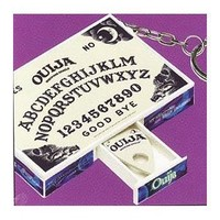 Ouija Real Mini Game Box Board, and Pieces Keychain