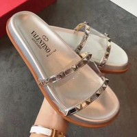 Valentino Women Casual Fashion Sandals Slipper Shoes