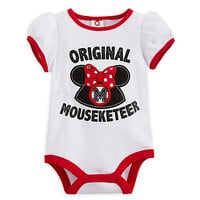 Minnie Mouse Mouseketeer Disney Cuddly Bodysuit for Baby | Disney Store