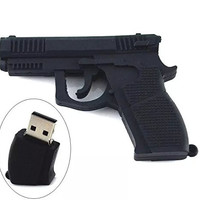 IT Mall High Quality 16GB MINI Gun Designed USB 2.0 Flash Memory Stick Pen Drive(suit for Chritmas present)