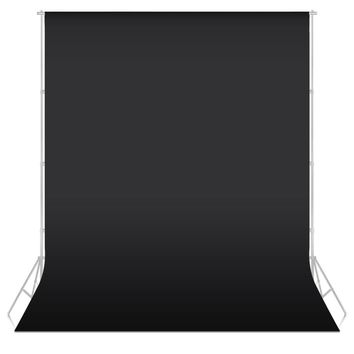 7colors 1.6X1m Photography studio Green Screen Chroma key Background Backdrop for Studio Photo lighting Non Woven BLACK backdrop