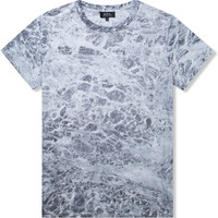 Grey Marbled T-Shirt
