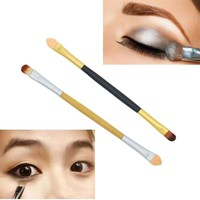 Double-end Eyeshadow Makeup Brush