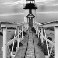 Brant Point Lighthouse - 11x14 Print - Photography #etsy #blackandwhite #Lighthouse #homedecor #lighthouseprint #nauticalprint