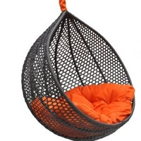 Ravelo - Vibrant Look Porch Hanging Chair With Stand - PE-03BK(Y9104BK):Amazon:Home & Kitchen