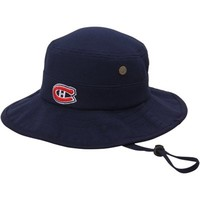 Men's Montreal Canadiens Zephyr Navy Blue Coaches Bucket Hat with Drawstring