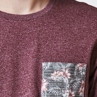 On The Byas Skull Floral Pocket T-Shirt at PacSun.com